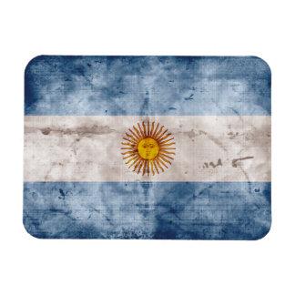 アルゼンチンの風化させた旗 マグネット