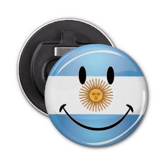 アルゼンチン人の円形の微笑の旗 栓抜き