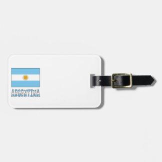 アルゼンチン人旗およびアルゼンチン ラゲッジタグ