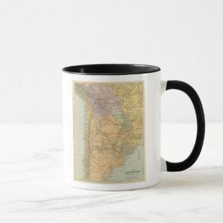 アルゼンチン共和国、チリ、パラグアイ、ウルグアイ マグカップ