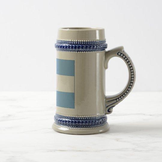 アルゼンチン国旗(横) ビールジョッキ