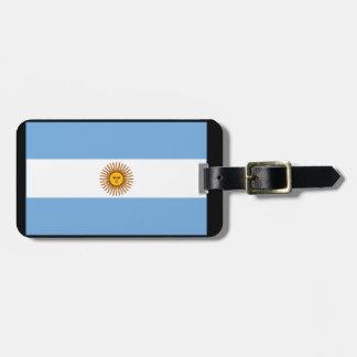 アルゼンチン国旗(横) ラゲッジタグ