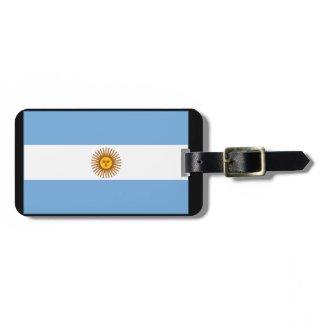 アルゼンチン国旗(横) 荷物名前タグ