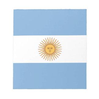 アルゼンチン ノートパッド
