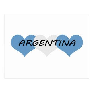 アルゼンチン ポストカード
