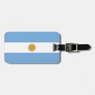 アルゼンチン ラゲッジタグ