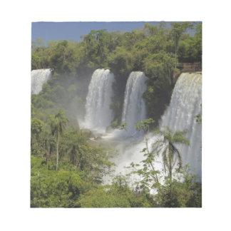 アルゼンチン、日曜日のIguacuの滝 ノートパッド