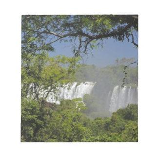 アルゼンチン、日曜日2のIguacuの滝 ノートパッド