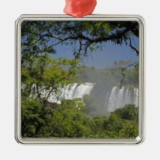 アルゼンチン、日曜日2のIguacuの滝 メタルオーナメント
