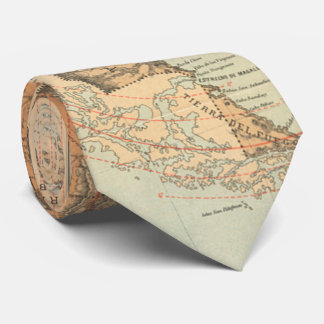 アルゼンチン(1882年)のヴィンテージの地図 ネックウェアー