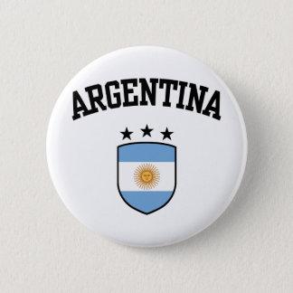 アルゼンチン 5.7CM 丸型バッジ