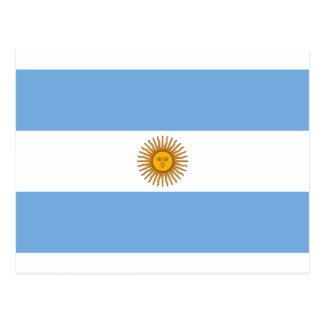アルゼンチン- Bandera deアルゼンチンの旗 ポストカード