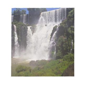 アルゼンチン; Igwazu; Igwazuの滝。 Saltoサン ノートパッド