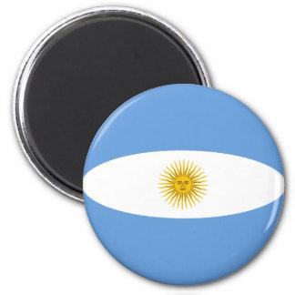 アルゼンチンFisheyeの旗の磁石 マグネット