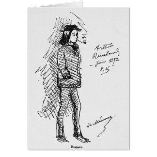 アルチュール・ランボー1872年6月 カード