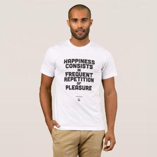 アルトゥル・ショーペンハウアー-感動的な引用文ポスター Tシャツ