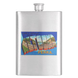 アルトゥーナペンシルバニアPAのヴィンテージ旅行記念品 フラスク