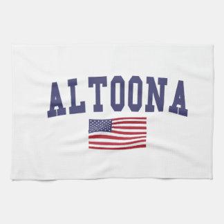 アルトゥーナ米国の旗 キッチンタオル
