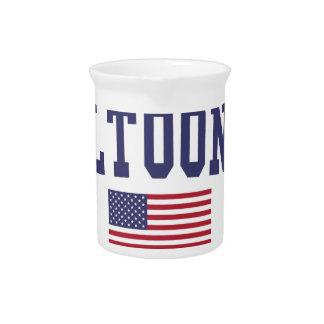 アルトゥーナ米国の旗 ピッチャー