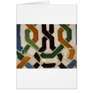 アルハンブラの壁のタイル#2 カード