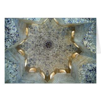 アルハンブラの天井 カード