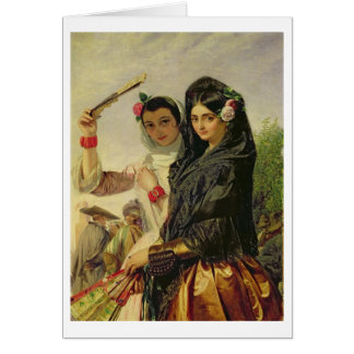 アルハンブラの娘 カード