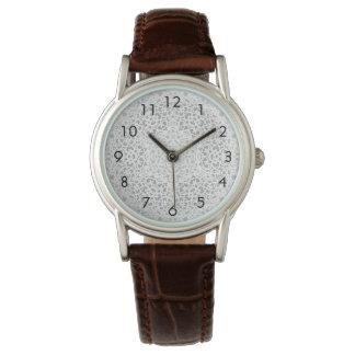 アルハンブラの白い線条細工の腕時計 腕時計