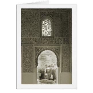 アルハンブラの窓 カード
