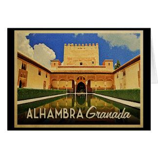 アルハンブラグラナダスペイン カード
