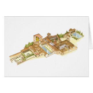 アルハンブラグラナダスペイン。 王宮 カード