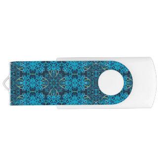 アルハンブラ青いUSBドライブ64 GBのフラッシュ USBフラッシュドライブ