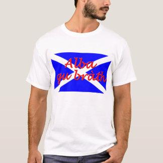 """""""アルバのグウのbrath""""の基本的な人のTシャツ Tシャツ"""