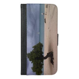 アルバのビーチの電話財布 iPhone 6/6S PLUS ウォレットケース