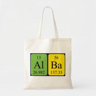 アルバの周期表の名前のトートバック トートバッグ