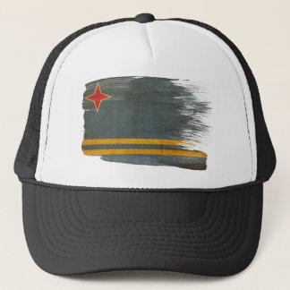 アルバの旗のトラック運転手の帽子 キャップ