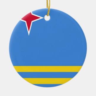 アルバの旗 セラミックオーナメント