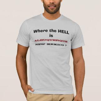 アルバカーキどこに、ニューメキシコはありますか。 Tシャツ