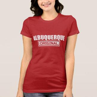 アルバカーキの元の写実的なティー Tシャツ