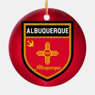 アルバカーキの旗 セラミックオーナメント