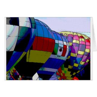 アルバカーキの気球のフェスタ カード