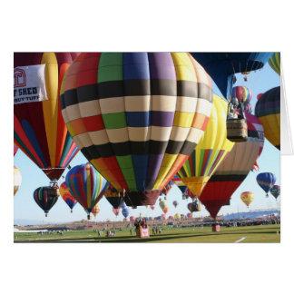 アルバカーキの気球 カード