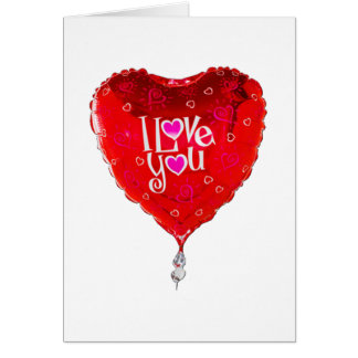 アルバカーキの気球I愛 カード