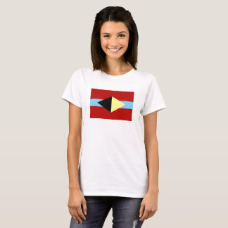 アルバカーキの記号を用いる白いTシャツ Tシャツ