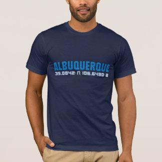 アルバカーキ都市はティーを調整します Tシャツ