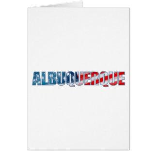 アルバカーキ カード