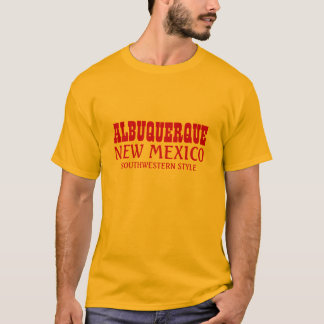 アルバカーキ、ニューメキシコの南西スタイル Tシャツ