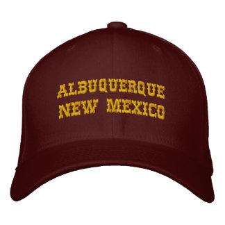 アルバカーキ、ニューメキシコ 刺繍入りキャップ
