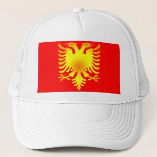 アルバニアのイヌワシの旗 キャップ