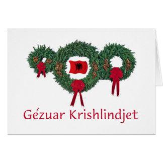 アルバニアのクリスマス2 カード
