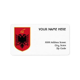 アルバニアのラベル ラベル